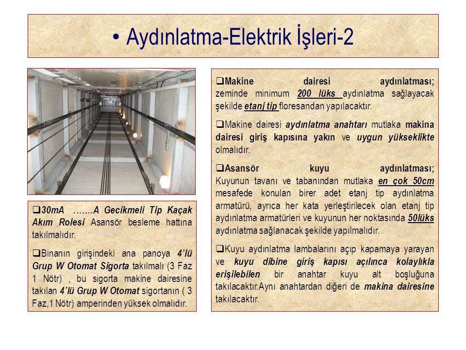 Aydınlatma-Elektrik İşleri-2