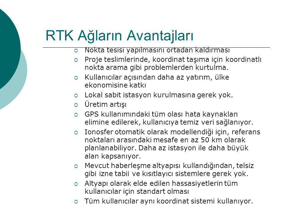 RTK Ağların Avantajları
