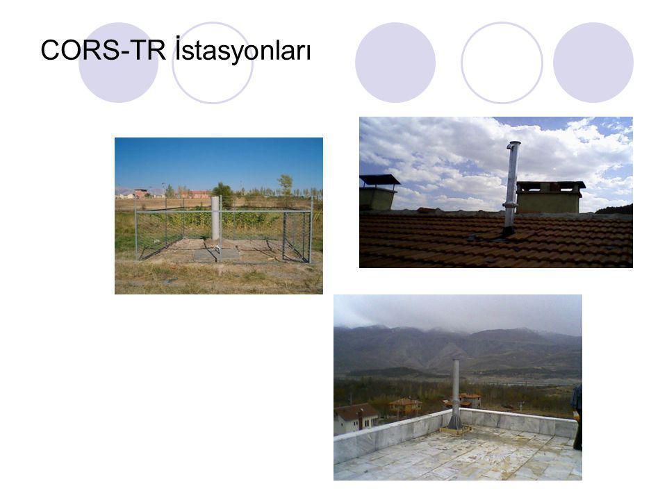 CORS-TR İstasyonları