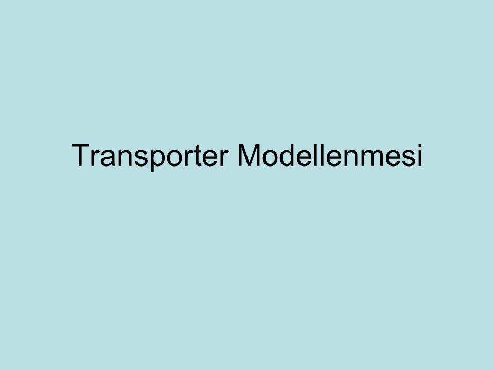 Transporter Modellenmesi