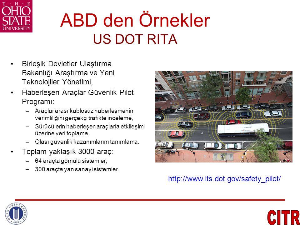 ABD den Örnekler US DOT RITA
