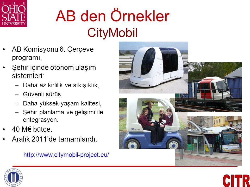 AB den Örnekler CityMobil