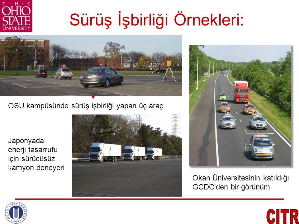 Sürüş İşbirliği Örnekleri: