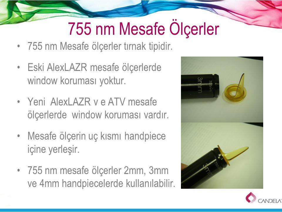 755 nm Mesafe Ölçerler 755 nm Mesafe ölçerler tırnak tipidir.