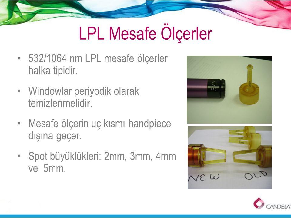 LPL Mesafe Ölçerler 532/1064 nm LPL mesafe ölçerler halka tipidir.