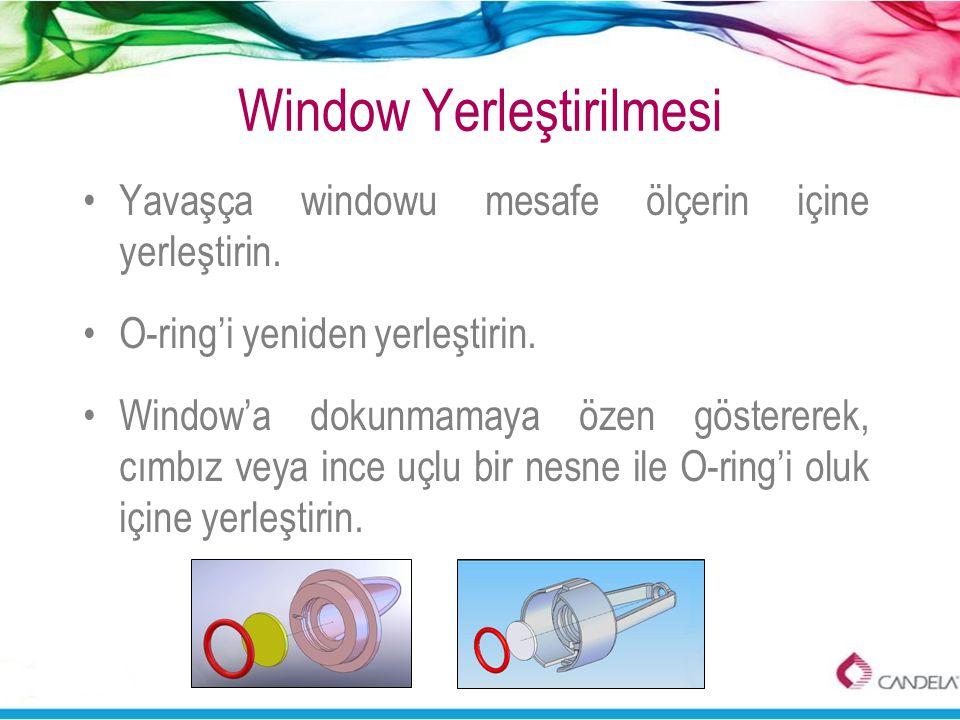 Window Yerleştirilmesi