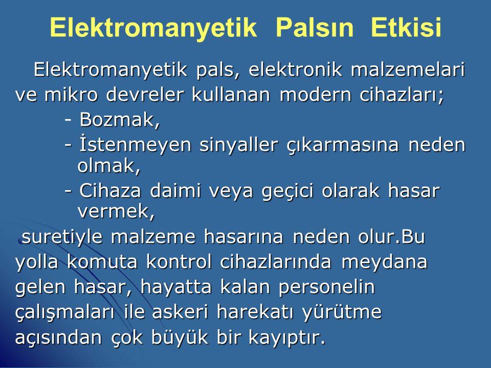 Elektromanyetik Palsın Etkisi