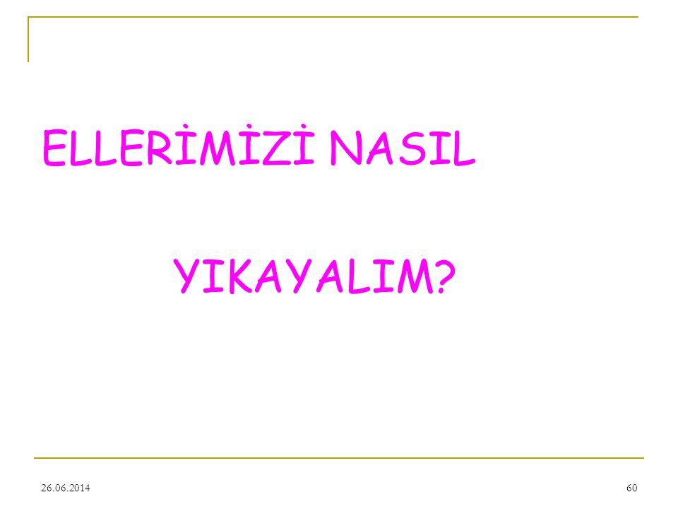 ELLERİMİZİ NASIL YIKAYALIM 03.04.2017