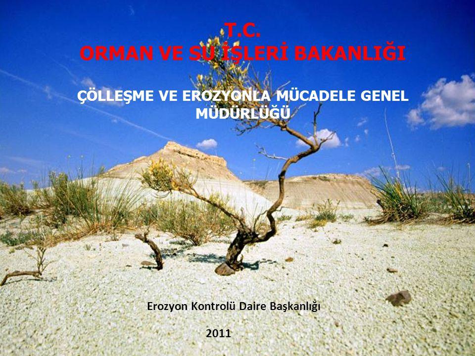 Erozyon Kontrolü Daire Başkanlığı 2011