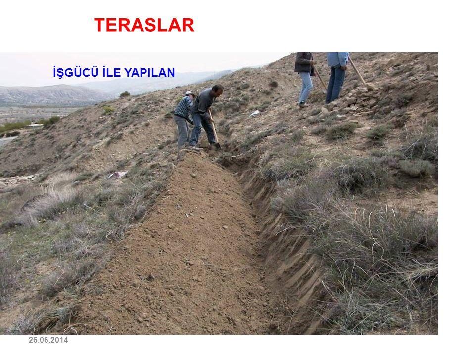 TERASLAR İŞGÜCÜ İLE YAPILAN 03.04.2017