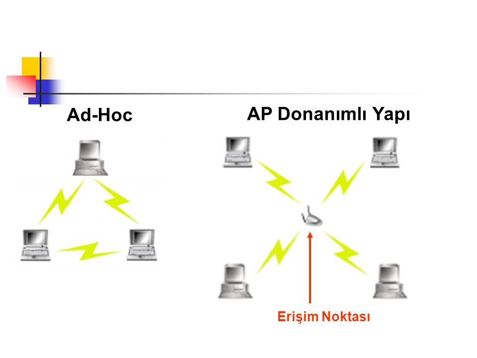 Ad-Hoc AP Donanımlı Yapı Erişim Noktası
