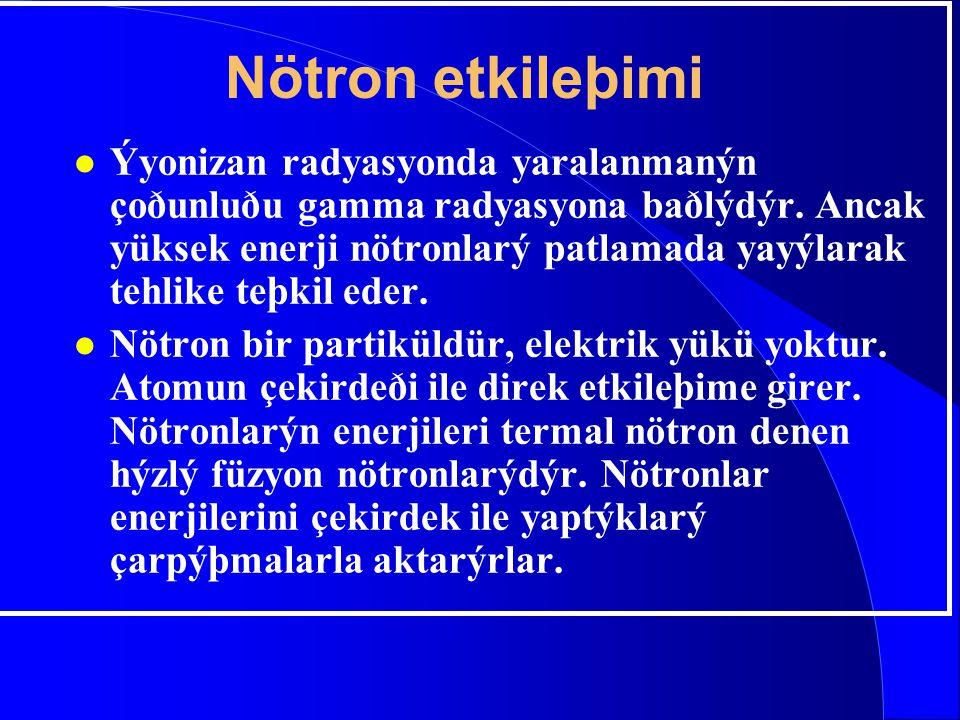 Nötron etkileþimi