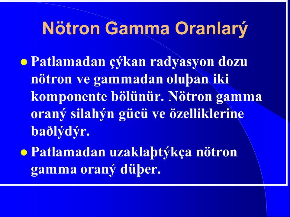 Nötron Gamma Oranlarý