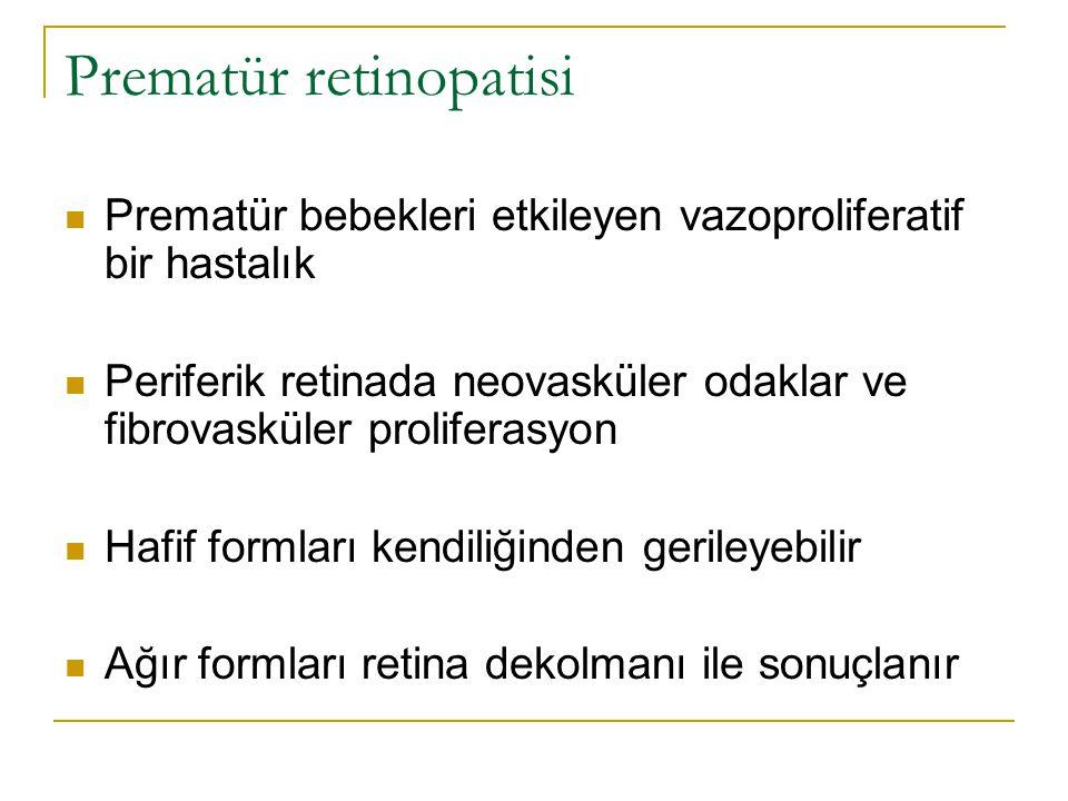 Prematür retinopatisi