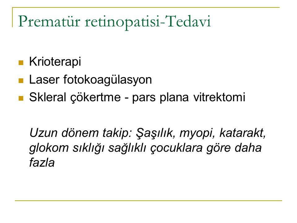 Prematür retinopatisi-Tedavi