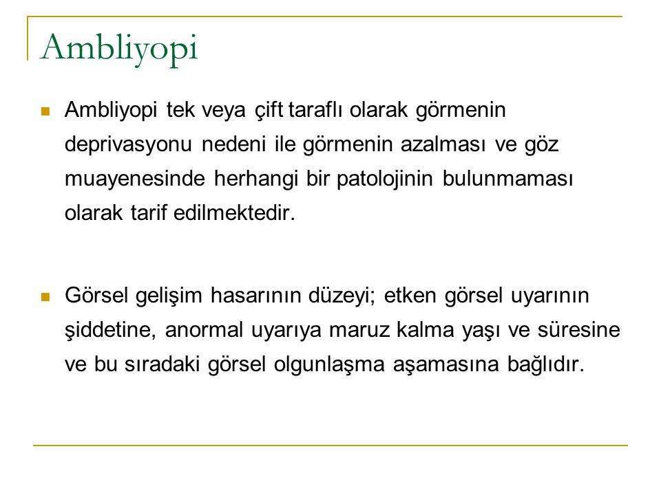 Ambliyopi