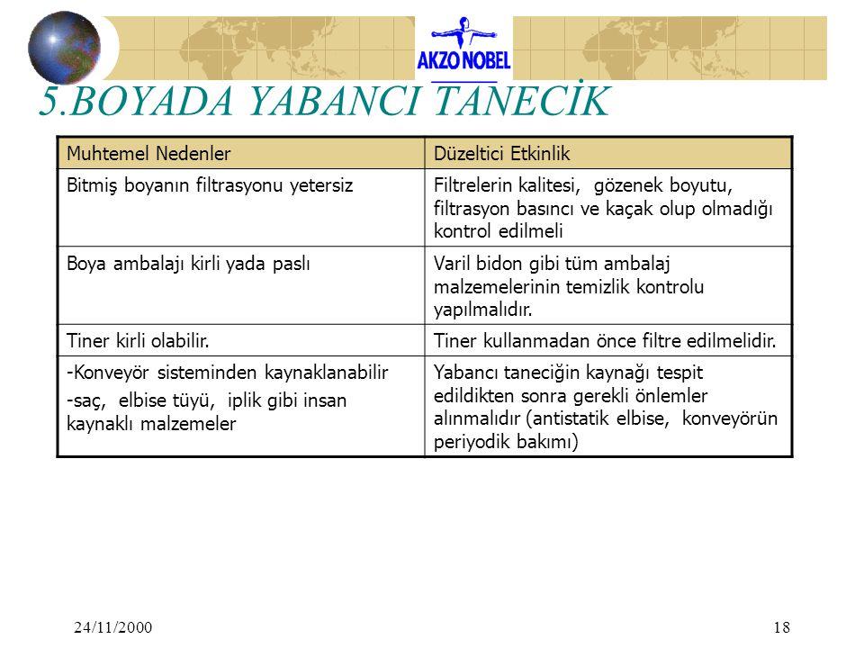 5.BOYADA YABANCI TANECİK