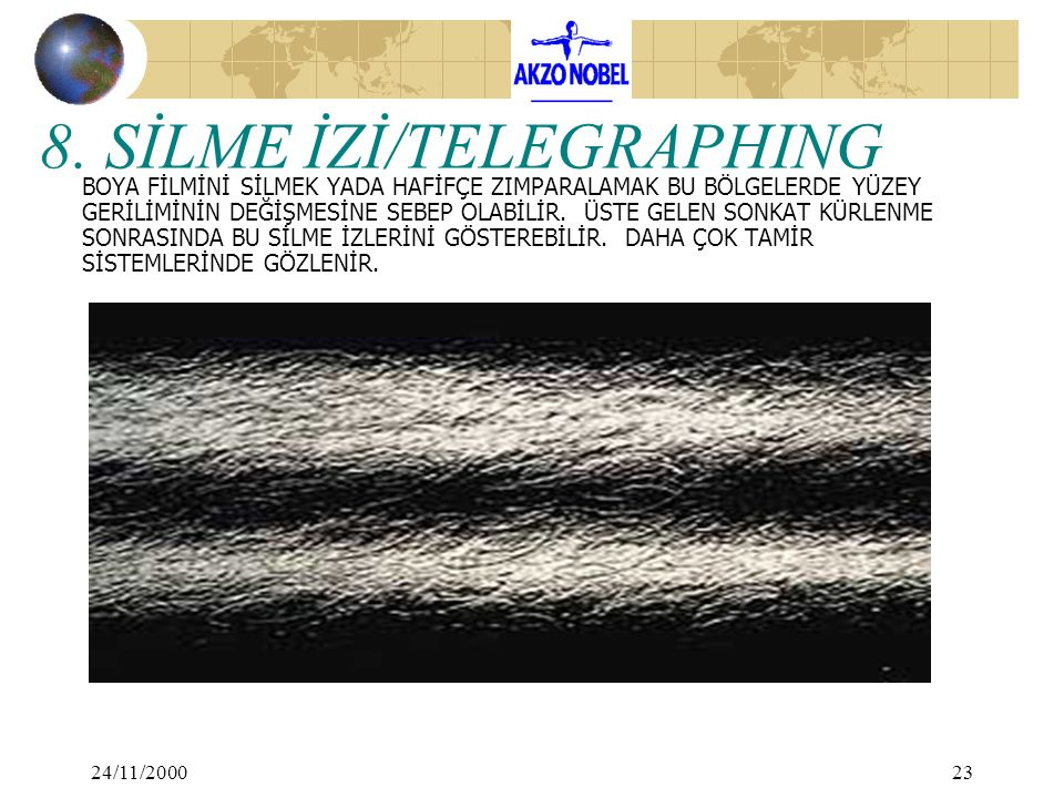 8. SİLME İZİ/TELEGRAPHING