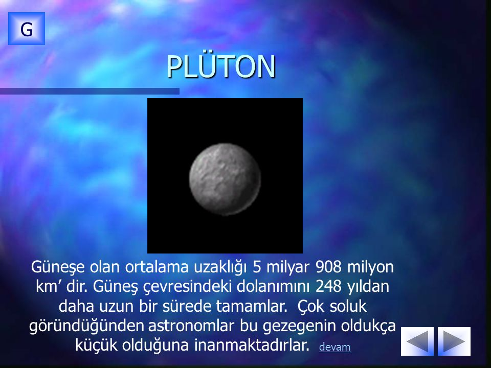 G PLÜTON.