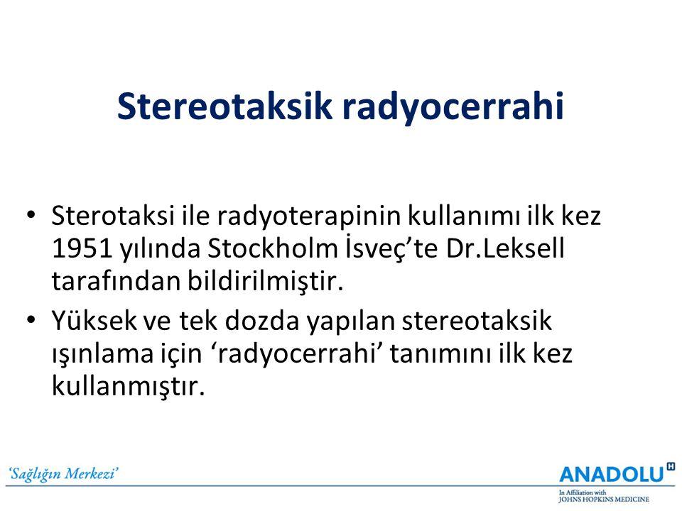 Stereotaksik radyocerrahi