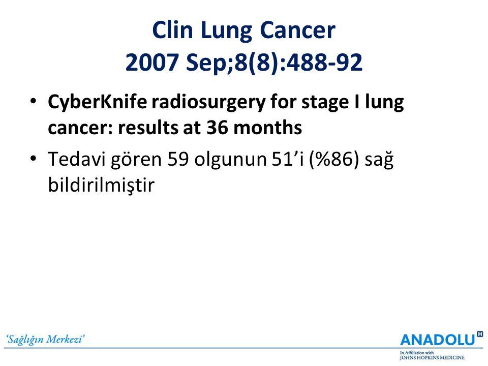 Clin Lung Cancer 2007 Sep;8(8):488-92