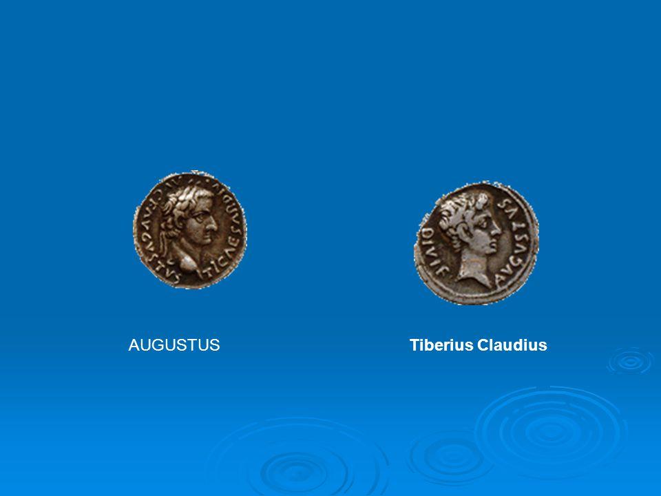 AUGUSTUS Tiberius Claudius