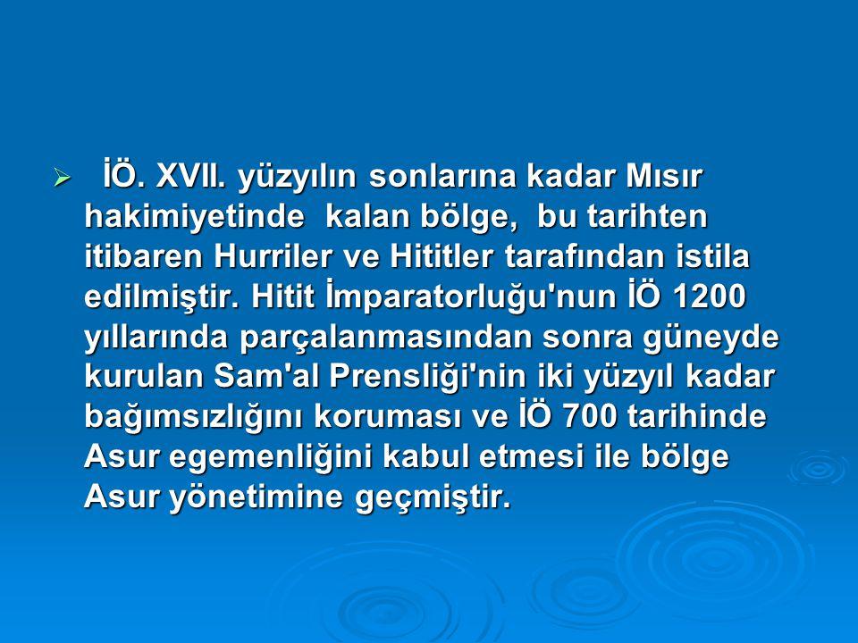 İÖ. XVII.