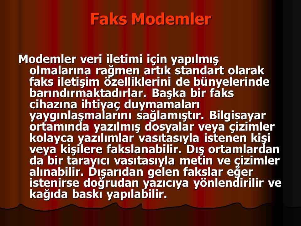 Faks Modemler