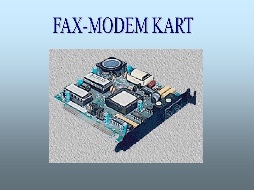 FAX-MODEM KART