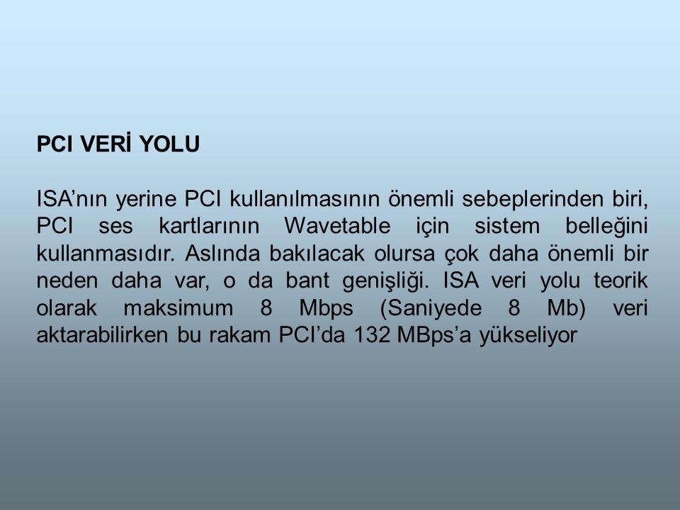 PCI VERİ YOLU