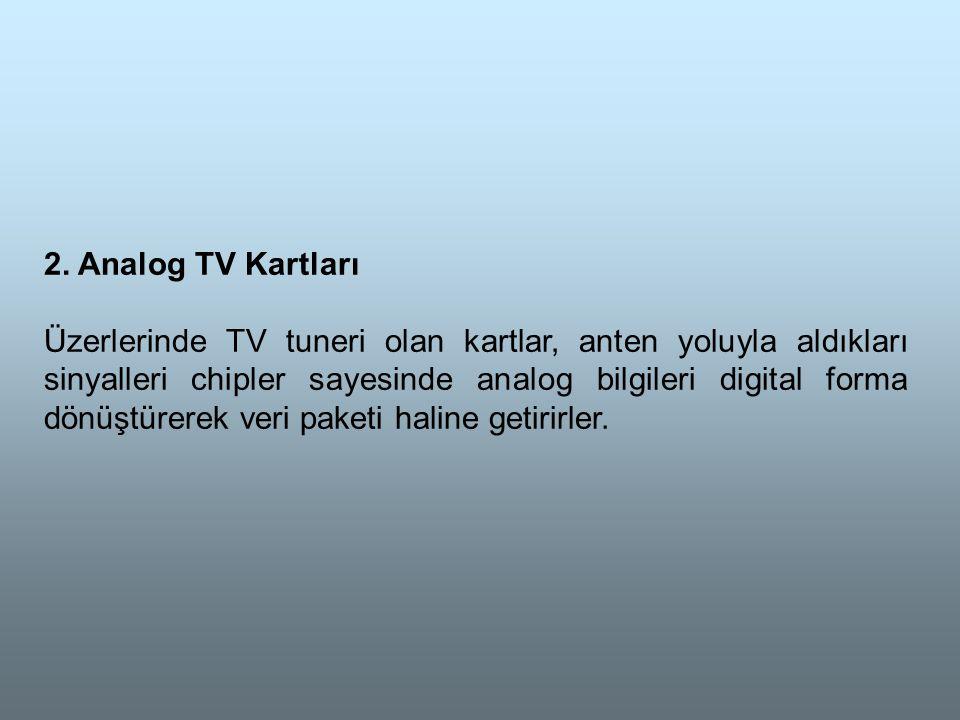 2. Analog TV Kartları