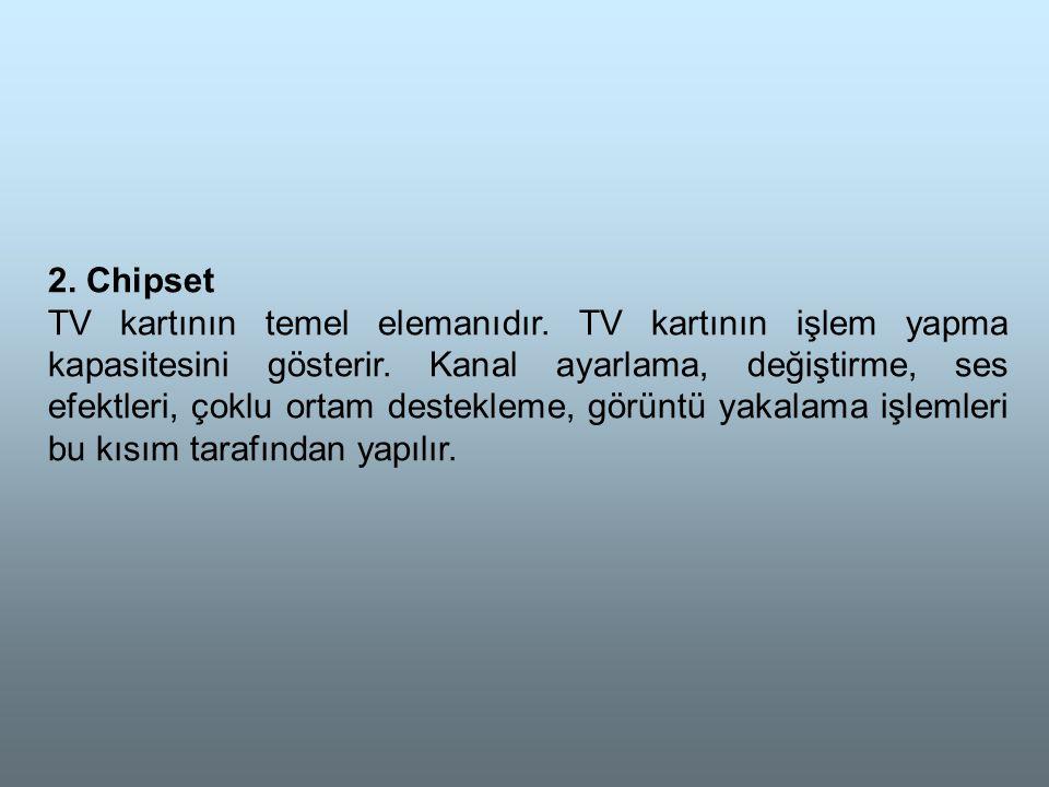 2. Chipset