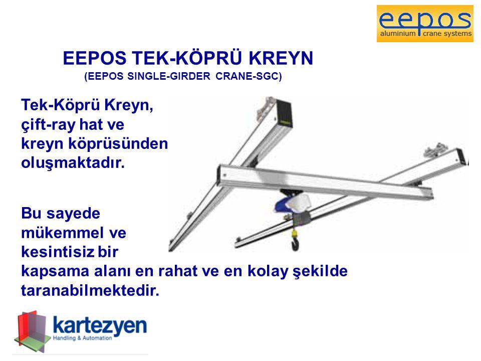 EEPOS TEK-KÖPRÜ KREYN Tek-Köprü Kreyn, çift-ray hat ve