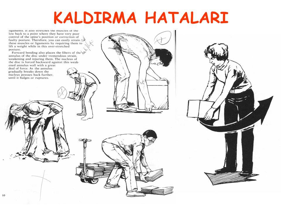 KALDIRMA HATALARI