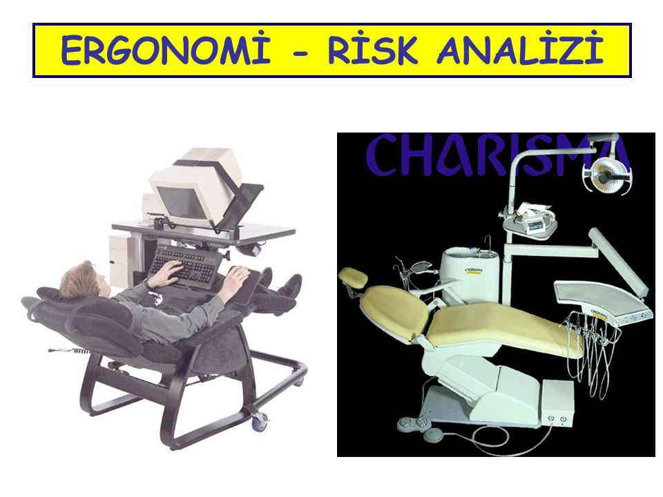 ERGONOMİ - RİSK ANALİZİ