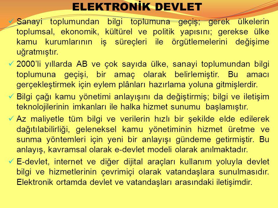 ELEKTRONİK DEVLET