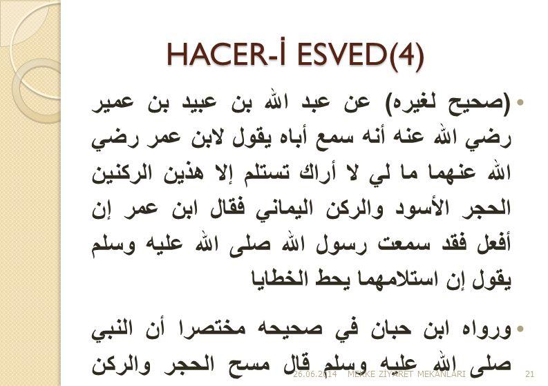 HACER-İ ESVED(4)