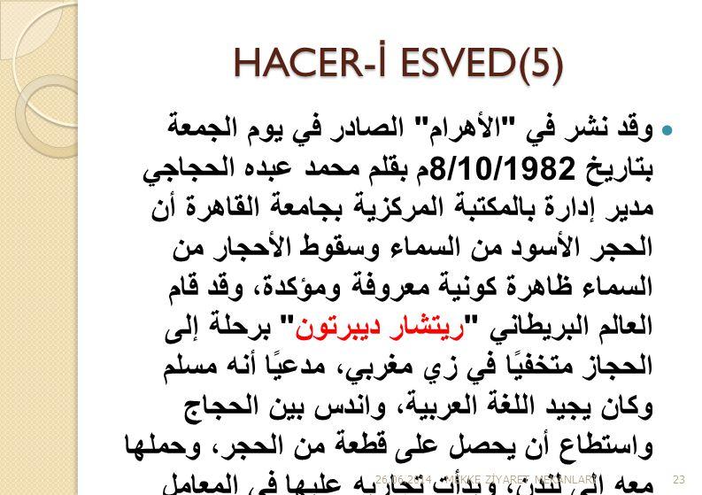 HACER-İ ESVED(5)