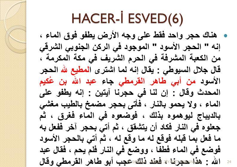 HACER-İ ESVED(6)