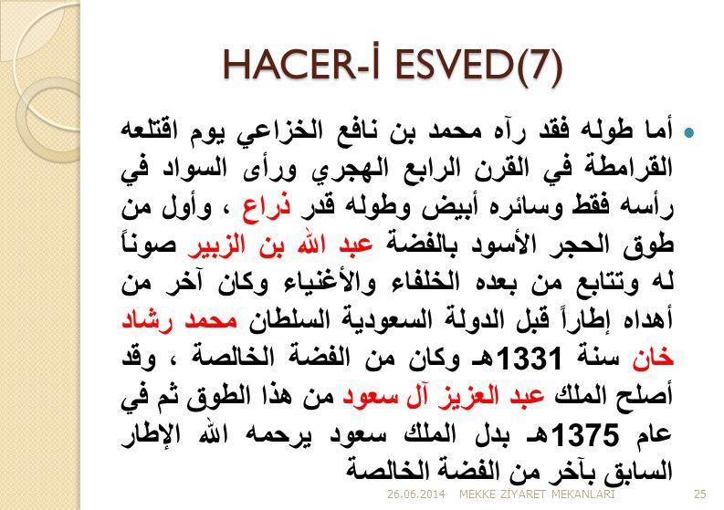 HACER-İ ESVED(7)