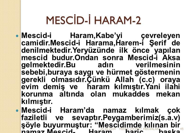 MESCİD-İ HARAM-2