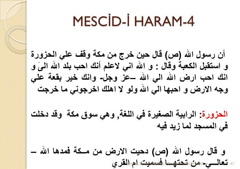 MESCİD-İ HARAM-4