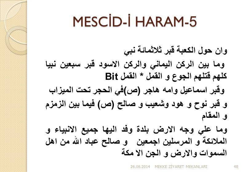 MESCİD-İ HARAM-5