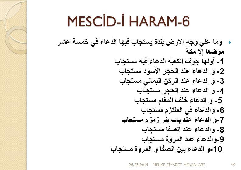 MESCİD-İ HARAM-6
