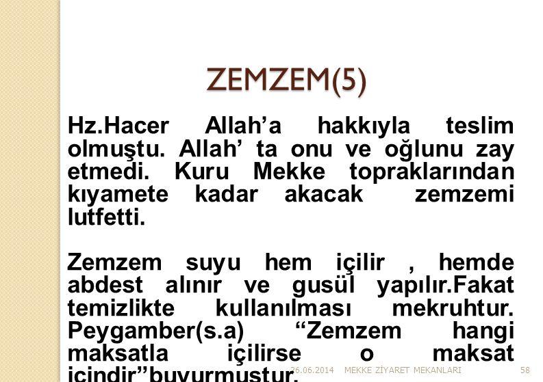 ZEMZEM(5)