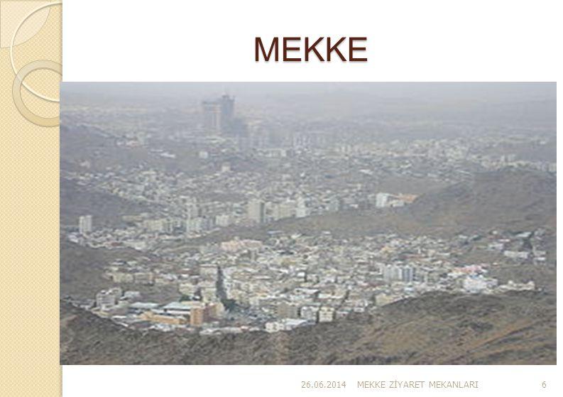 MEKKE 03.04.2017 MEKKE ZİYARET MEKANLARI