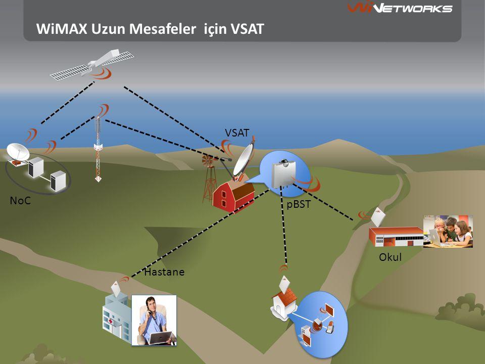 WiMAX Uzun Mesafeler için VSAT