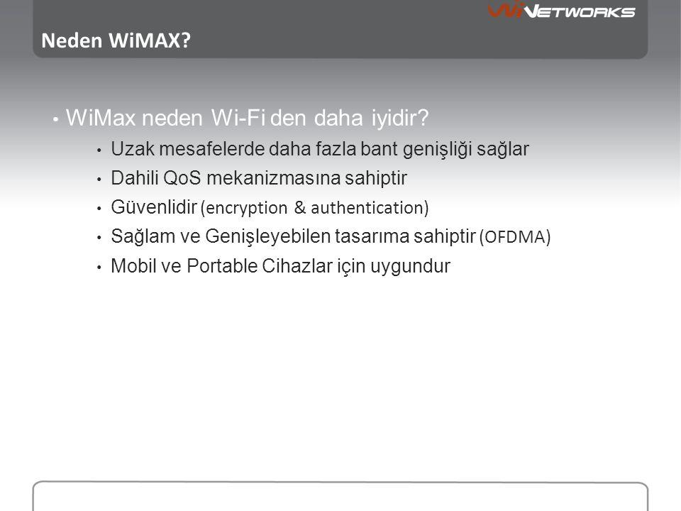 WiMax neden Wi-Fi den daha iyidir
