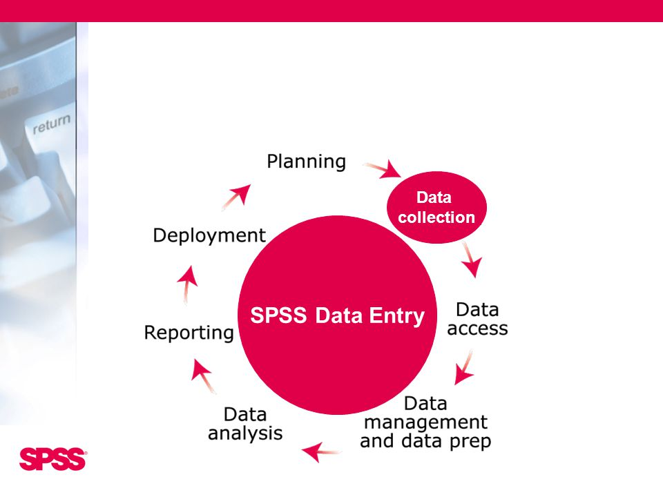 SPSS Data Entry Data collection