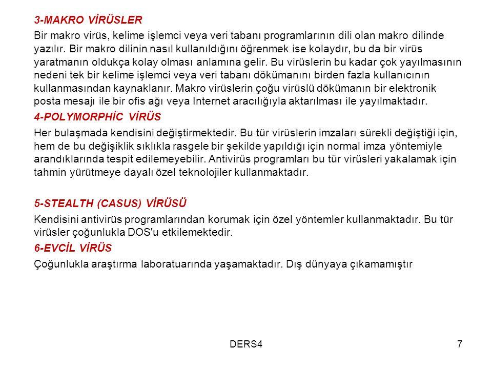 5-STEALTH (CASUS) VİRÜSÜ